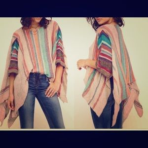 Free People XS/S Fressia Stripe Pullover for sale!